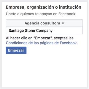 Santigo Stone Company Ejemplo